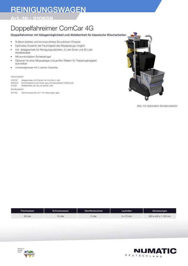 Numatic Reinigungswagen-1
