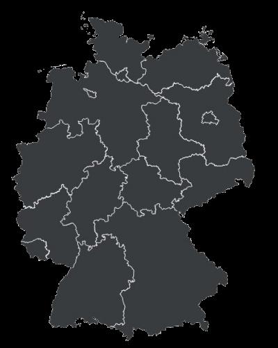 Deutschland-Karte